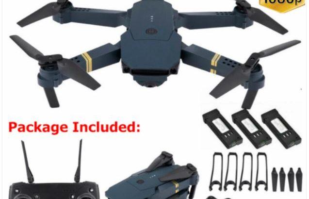 Drone X Pro WIFI FPV 4K/1080P Camera 3 Batteries Foldable Selfie RC Quadcopter X